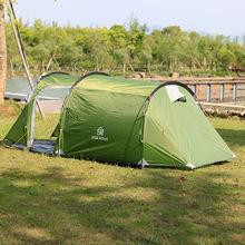 厂家户外野营帐篷沙滩帐透气小隧道2至3人休闲公园一室一厅批发
