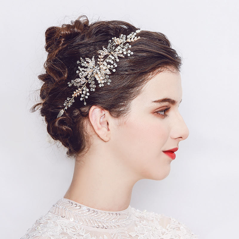 Alloy Fashion Geometric Hair accessories  (Alloy) NHHS0303-Alloy