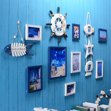 一件代发装饰画框欧式地中海组合创意照片相框墙挂墙客厅相片墙