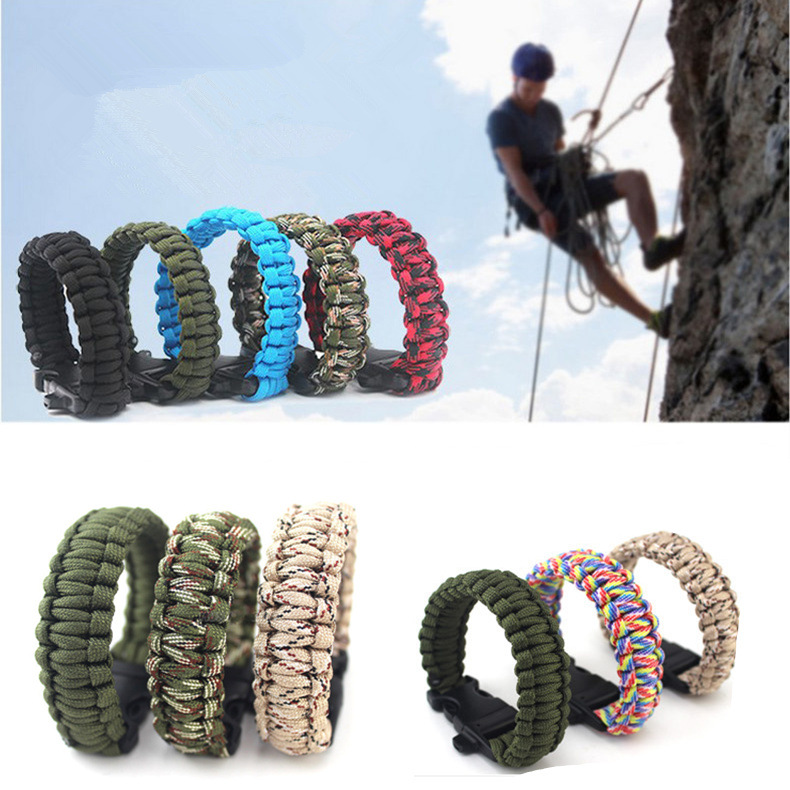 Wholesale Fashion Umbrella rope bracelet woven bracelet fashion bracelet survival bracelet wild survival outdoor supplies seven core umbrella rope NHIM178053