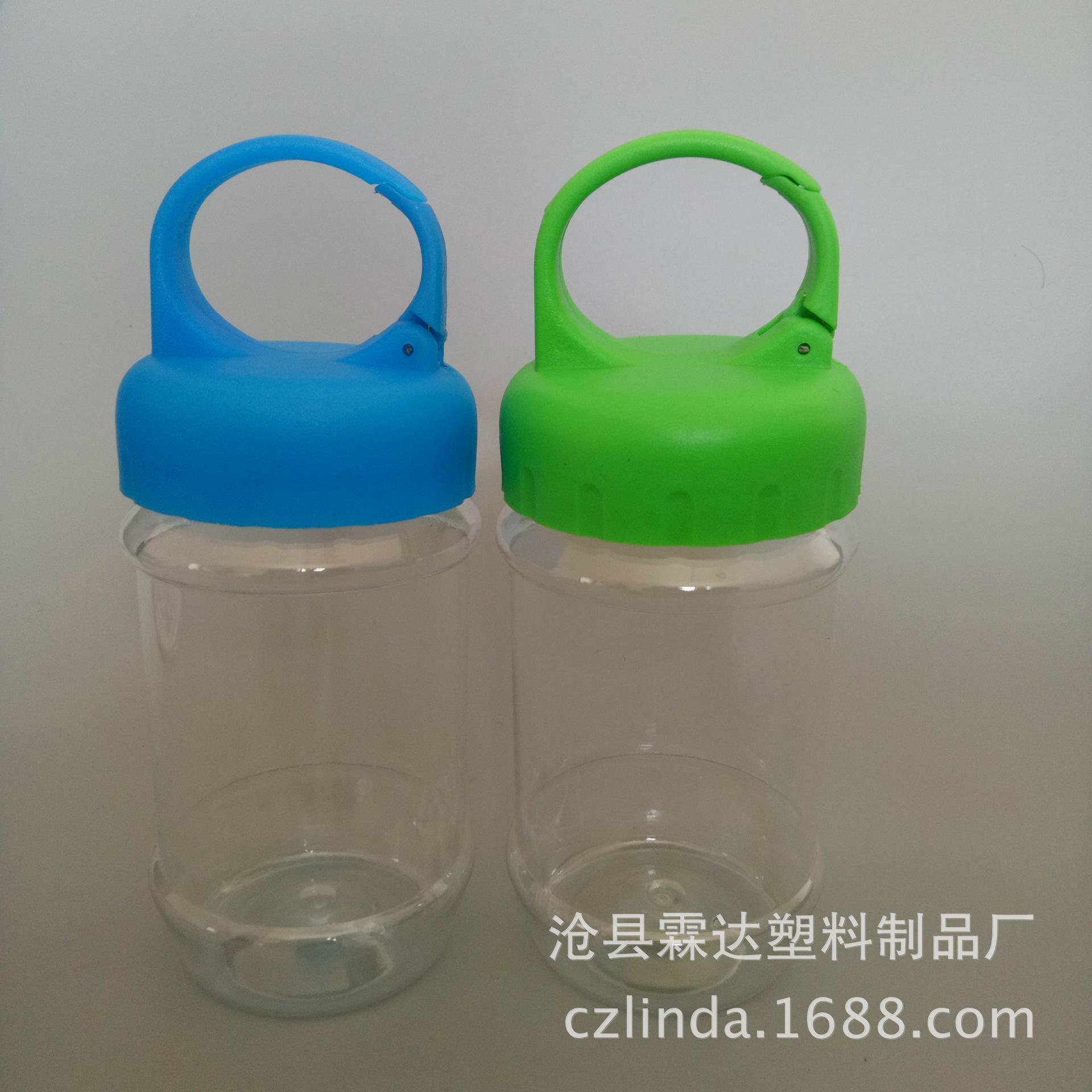 厂家直销冰巾瓶 活口冷感运动毛巾瓶 pet塑料瓶