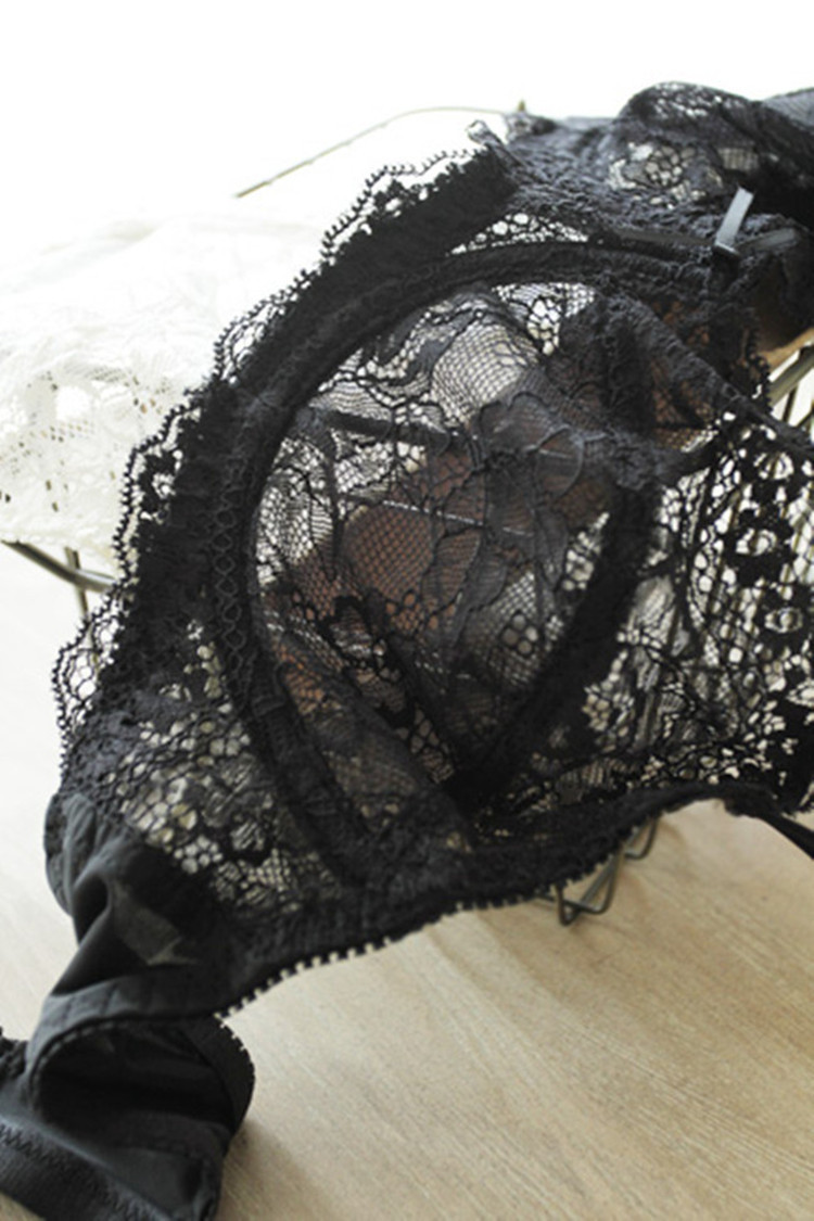 lace edge comfortable breathable sexy underwear set  NSCL9219
