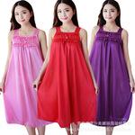 Đầm ngủ nữ thời trang, màu sắc phong phú, kiểu dáng giản dị