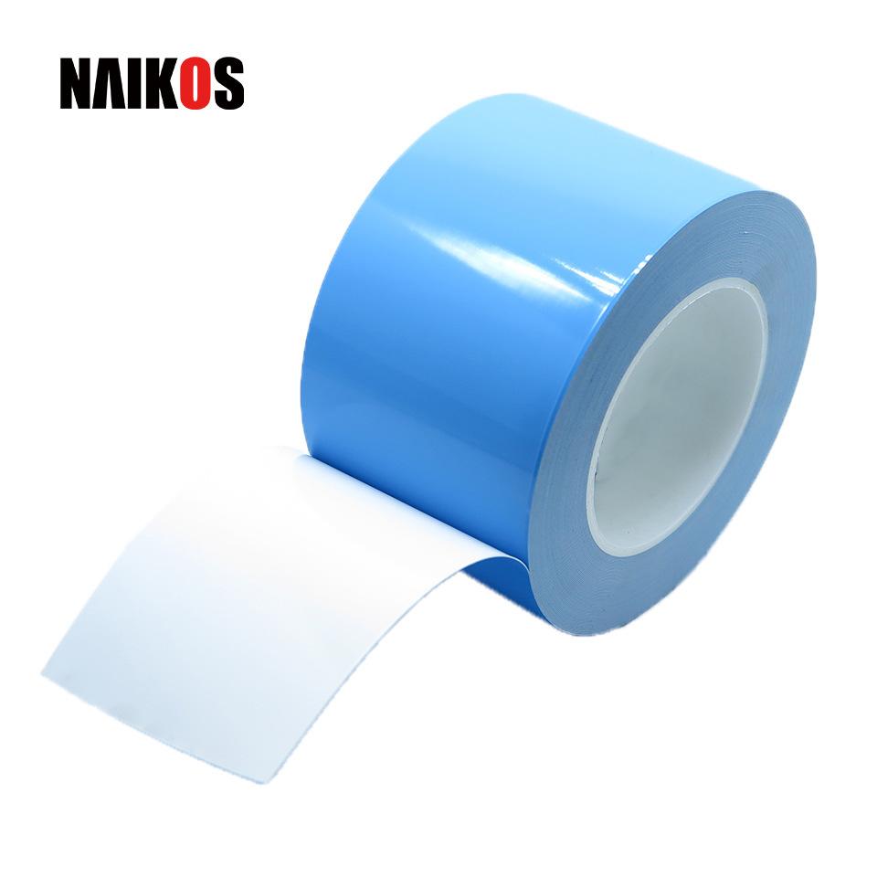 厂家批发导热双面胶带 0.30mm低热阻玻纤工业包装胶带 铝基板高粘
