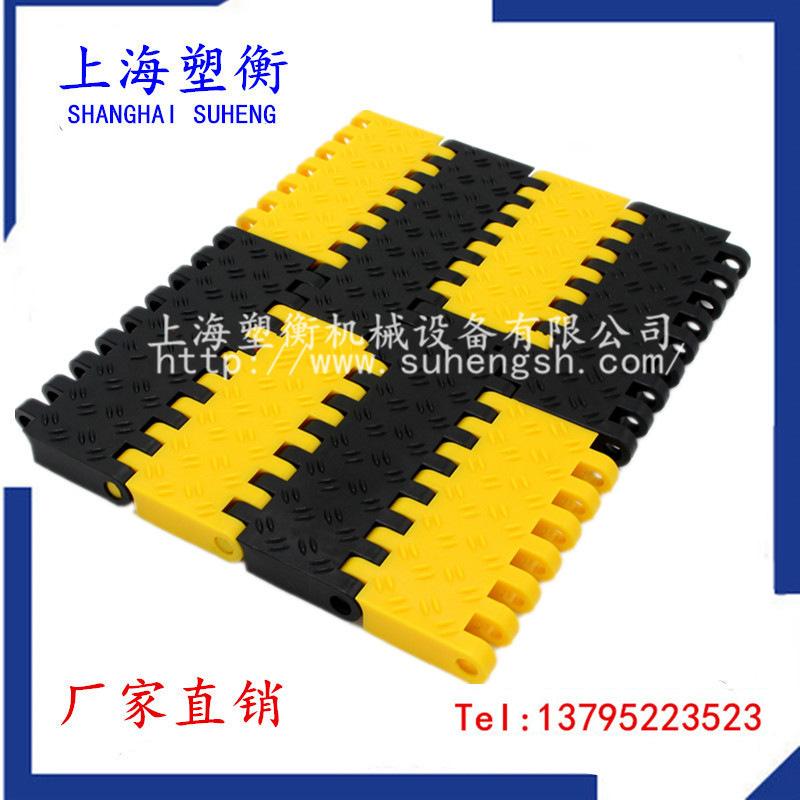 特氟龙网带_食品级塑料网带耐高温模组网带耐酸碱模块网格化
