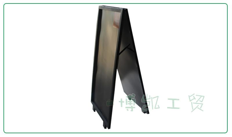 厂家优供黑板出口西班牙钢管骨架洋广告A字板