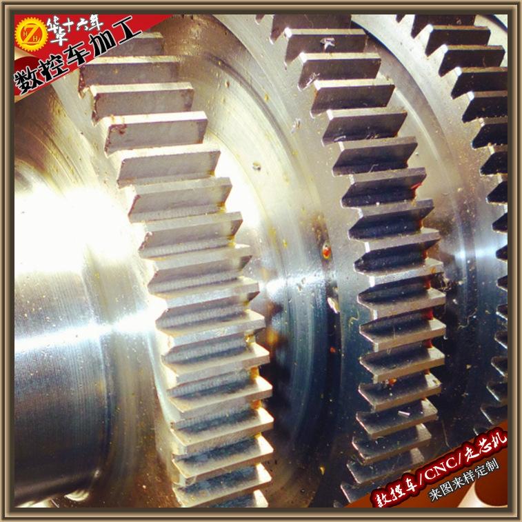 深圳寶安數控車削滾齒機滾齒加工批量螺旋齒輪斜齒傘齒內齒輪加工