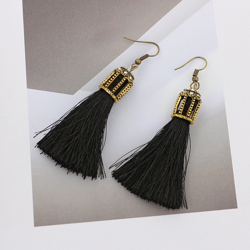 Retro alloy plating earring NHGY0536