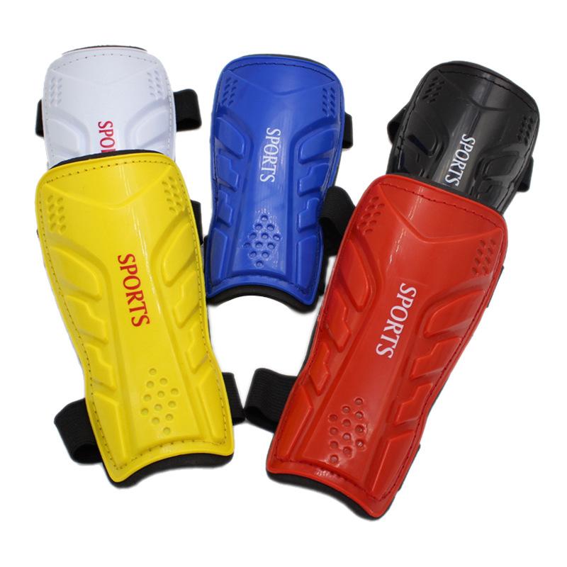 爆款厂家正品绑带式儿童足球护腿板运动护具体育用品礼品一件代发