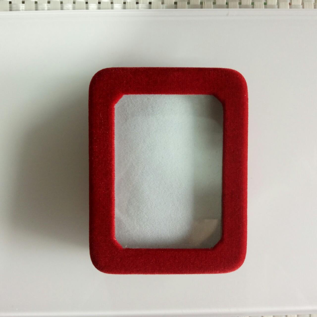 供应绒布镜面挂件玉器礼品包装首饰盒厂家直销
