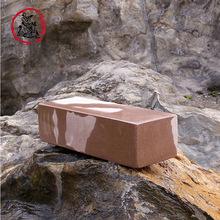 厂家供应 易磨刀 天然红岩石 8.5斤天然磨刀原石 红岩磨刀石 批发