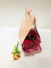 防水手提花篮纸盒 花店用品花艺纸花束包装礼盒鲜花插花材料批发