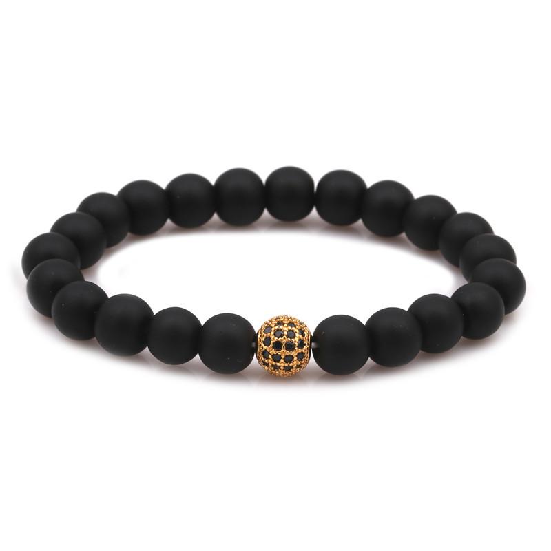 Alloy Fashion Geometric bracelet  black NHYL0337black