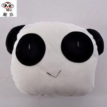 可爱卡通熊猫靠枕 汽车用品头枕  护颈枕 靠垫抱枕 溜娃坐垫靠背