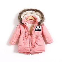 跨境童裝一件代發兒童冬裝新款男童女童棉衣卡通寶寶棉衣外套