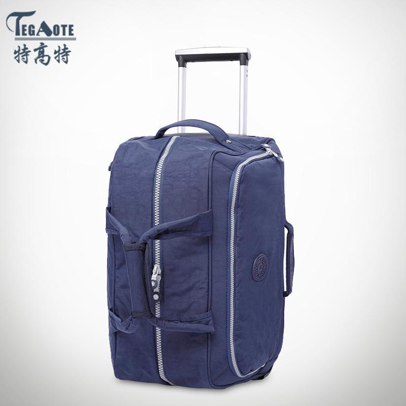 韩版旅行商务男女拉杆箱包 尼龙拉杆箱时尚简约厂家一件代发
