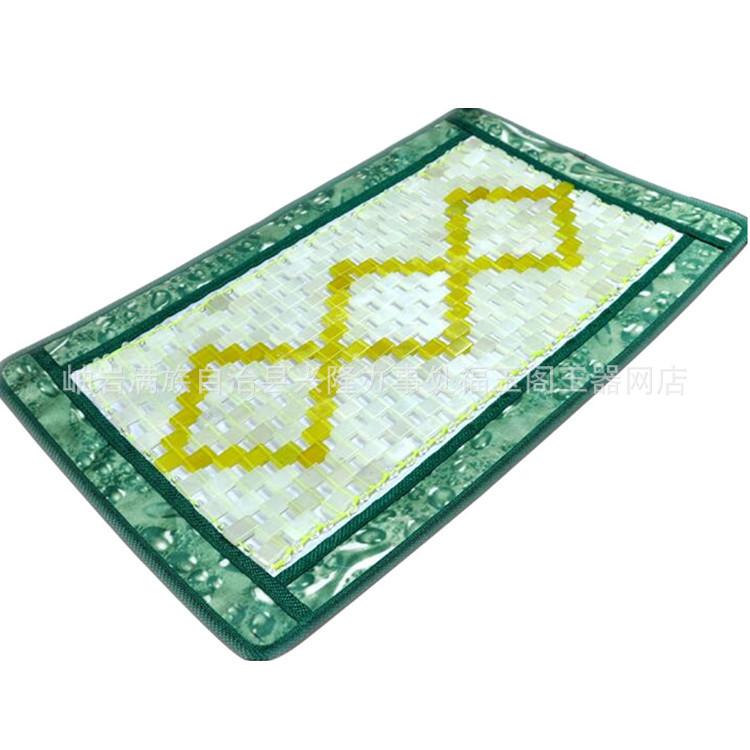东北玉石保健枕巾玉石枕垫 天然岫玉夏凉席枕垫枕巾特价 批发玉枕