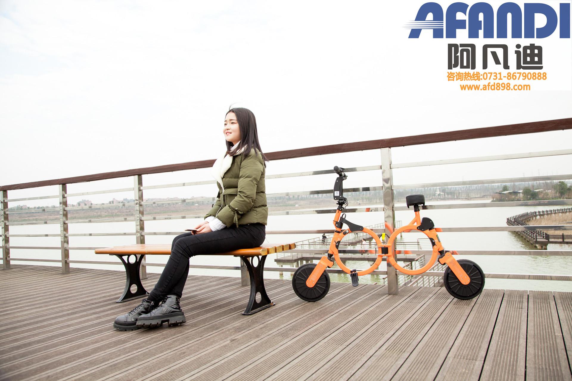 宁德市阿凡迪电动滑板车简易款电动