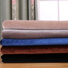 现货 金丝绒面料 韩国绒绒布 裙子卫衣运动针织短毛绒布料