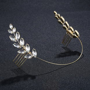 Womens wave handmade alloy wedding jewelry HS190418118164