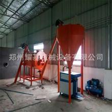 现货直销 一吨全自动干粉砂浆生产线定制小型卧式腻子粉生产线