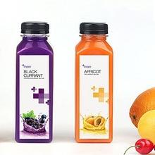 高透加厚PET奶茶瓶透明塑料瓶子500ML方果汁冷飲酵素空瓶帶蓋包郵