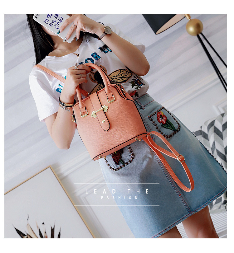 Korean version PUShoulder bag (Orange)NHPB0310-Orange
