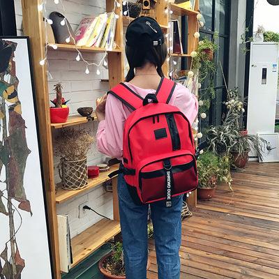 2017 mùa xuân và mùa hè mới của Hàn Quốc túi đi học cao Unisex du lịch ba lô xu hướng túi