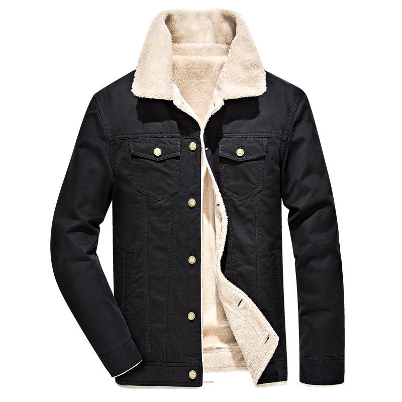 跨境 冬季棉衣男棉夹克外套冬季加绒加厚棉服青年大码上衣
