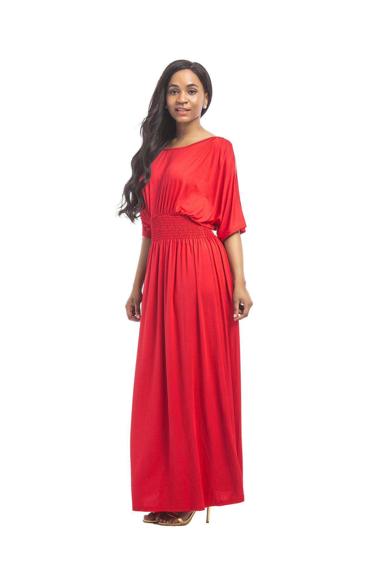 details zu langes maxikleid sommerkleid mode für mollige abendkleid  partykleid kleid bc543