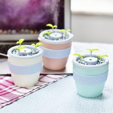 负离子盆栽加湿器 迷你USB空气加湿机 DIY植物种植花盆