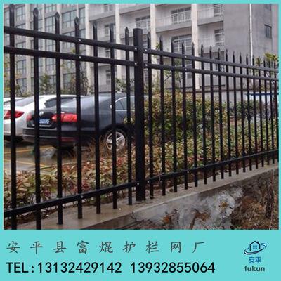 厂家直销小区栅栏 锌钢护栏 铁艺围栏 厂区 公园别墅围墙
