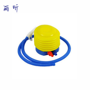 Environmentally friendly plastic foot inflator pump with double specifications mouth for children's inflatable toys