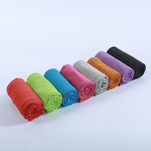 Microfiber towel bag cold towel, heatstroke prevention, cold towel, cooling artifact, outdoor cool towel, sports ice towel