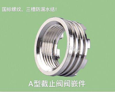 厂家直销(A型)精品PPR截止阀阀嵌件铜配件
