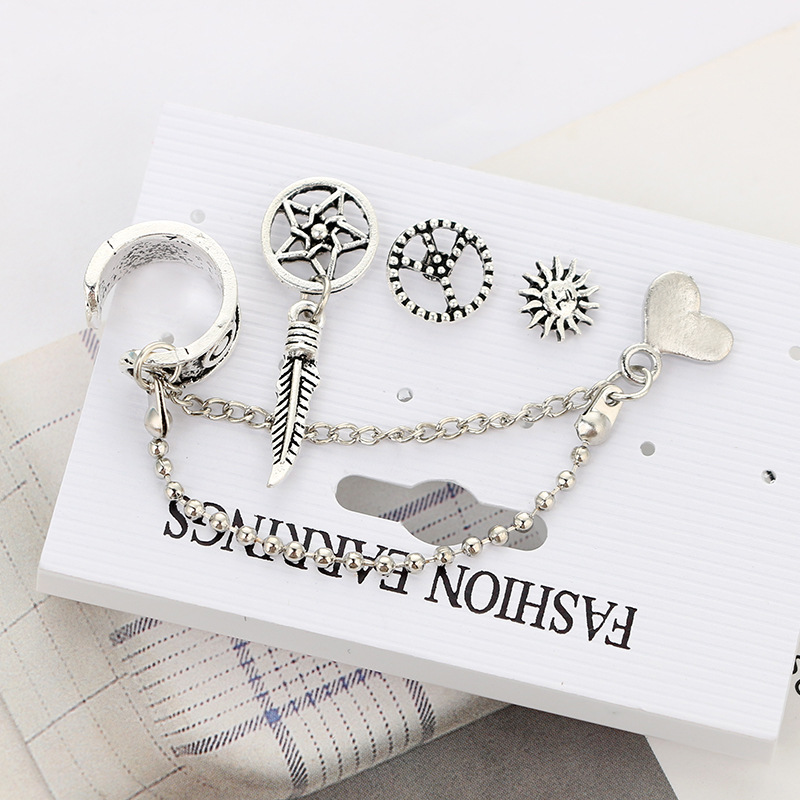 plating Jewelry Set (Photo Color)NHGY0626-Photo Color