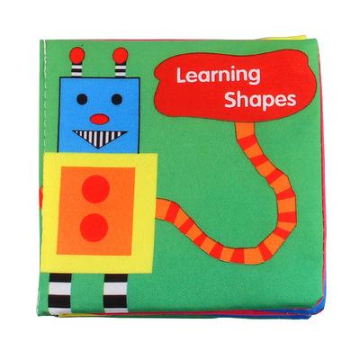 Nhà máy mới trẻ sơ sinh trực tiếp cuốn sách bé mầm non cuốn sách vải cọ với đồ chơi giáo dục vải túi giấy cuốn sách âm thanh
