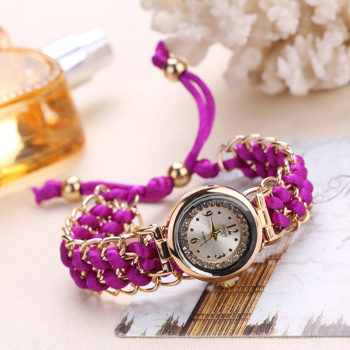 fashion   Watch (Light brown)  NHHK0776-Light brown