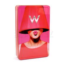 厂家供应护肤品套装马口铁包装盒 唇彩铁盒子定制 彩妆铁皮盒