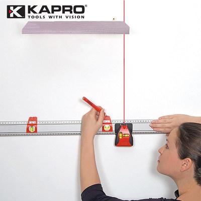 以色列KAPRO开普路814多功能激光标注尺 带水平泡测量直尺