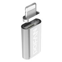 磁吸轉接頭MicroUSB數據線轉蘋果7/6s磁吸轉換頭安卓磁力線磁鐵頭