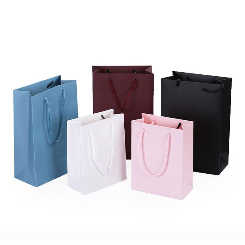 2019手提袋现货婚庆茶叶礼盒纸袋印刷商务包装通用款义乌厂家直销
