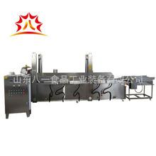 薯片薯条油炸机 油炸加工设备 油炸流水线 全自动油炸生产线