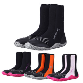 Factory 5MM diving shoes high boots men and women drifting surf non-slip warm upstream shoes snorkeling fins