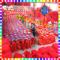 中国结10盘绒布结挂件舞台道具酒类企业广告礼品广告定制中国结