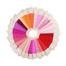 批发1.5CM弹力包边带粉色红色橙色系列 打结发绳发带发圈DIY配件