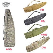 单肩户外斜口鸡蛋棉包渔具包战术包鱼竿包加宽钓鱼包迷彩包