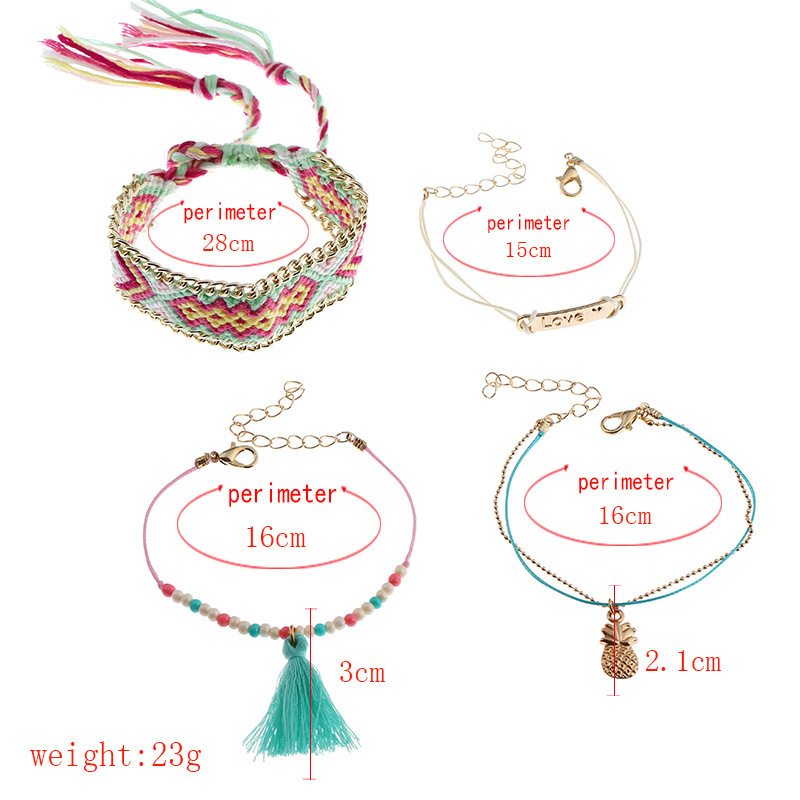 Fashion OL alloy plating Bracelet (Mixed color)NHNNZ3027-Mixed color