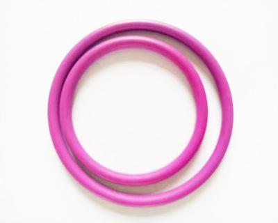 沸点表面喷涂四氟乙烯的黑色O形密封圈 NBR喷涂聚乙烯O型密封圈
