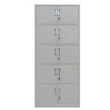文件柜厂家办公家具批发定做资料柜带锁分体五节档案柜子铁皮柜
